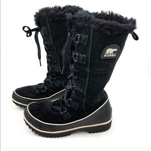 Sorel Tivoli High ll Black Winter Waterproof Boots